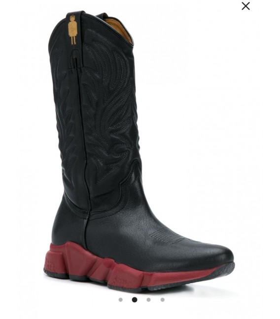 Texas Robot Texas western sneaker boots boots boots Nero