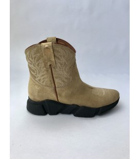GOLD LAMINATE BOOT TEXAS ROBOT