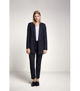 PINSTRIPED TROUSERS SET-FASHION
