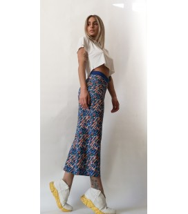 REVERSIBLE TANGERINE TROUSERS ANIMAPOP