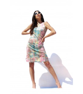 REVERSIBLE PASTEL DRESS ANIMAPOP